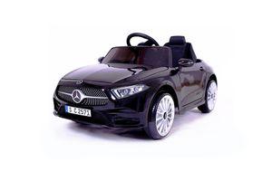 Elektrische kinderauto van Mercedes (zwart)