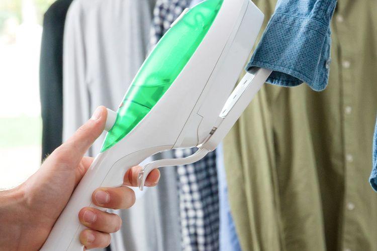 slajeslag 2-in-1 verticaal strijkijzer en kledingstoomreiniger