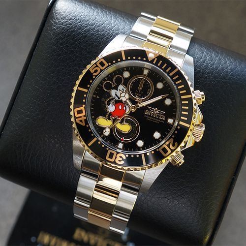 Mickey Mouse-herenhorloge van Invicta