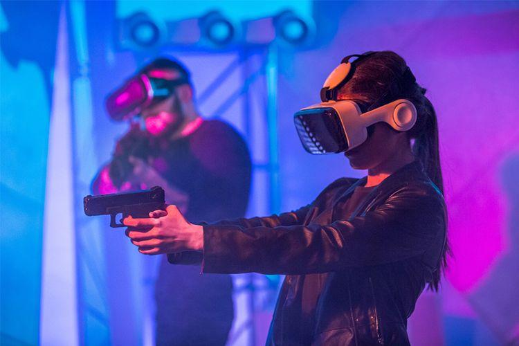 Korting The Grid VR Gaming in België (2 p.) Antwerpen
