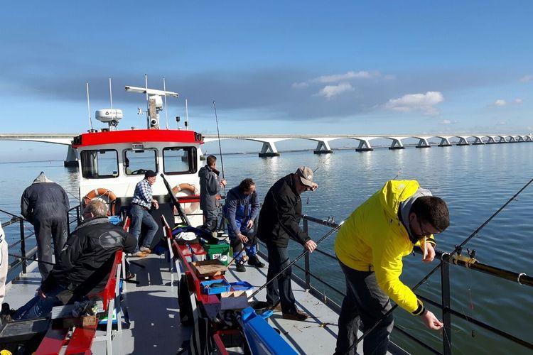 Dag bootvissen op de Oosterschelde voor 2