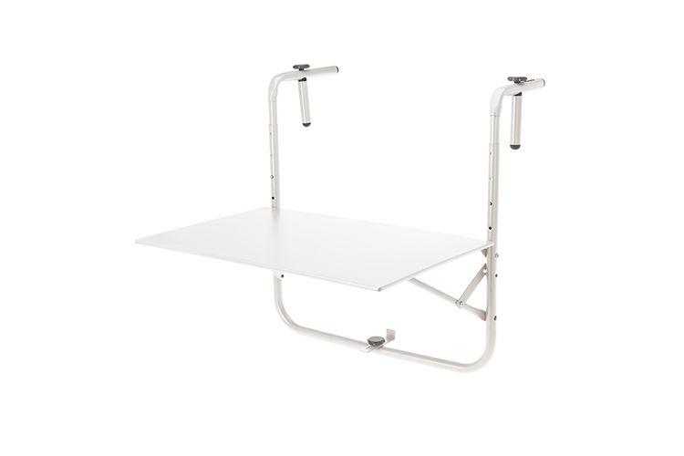 Witte balkontafel (40 x 60 cm)