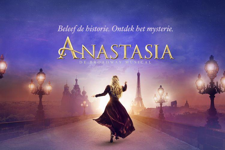 Musical Anastasia in het AFAS Circustheater Scheveningen