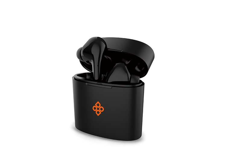 Bluetooth in-ear oordopjes van Dutch Originals (zwart)