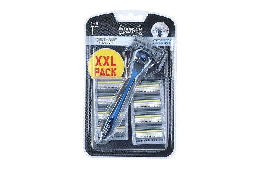 Wilkinson XXL-verpakking met scheermesjes voor mannen