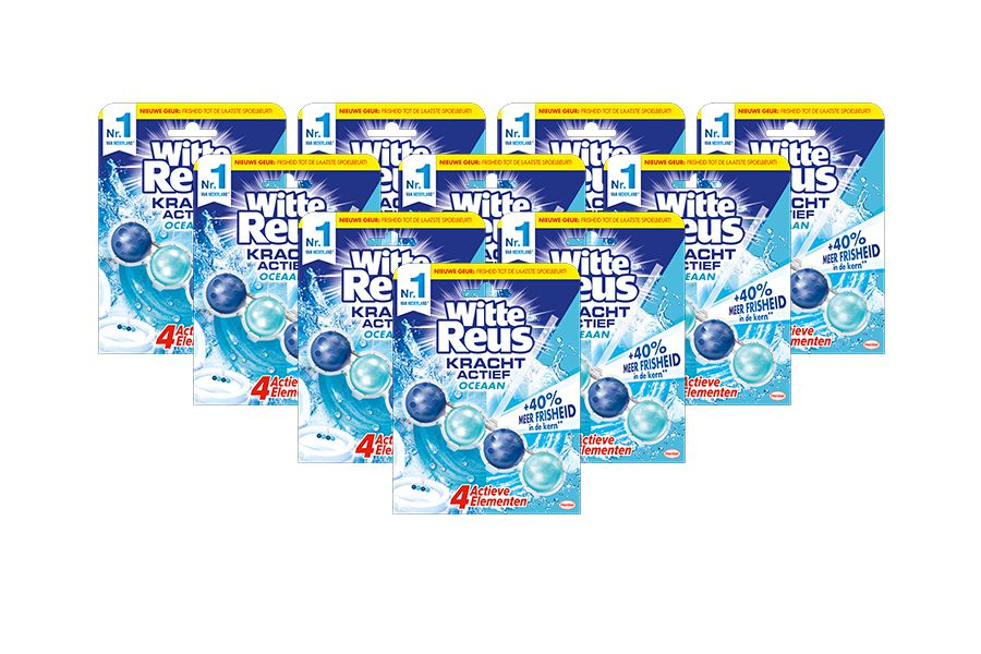 Witte Reus: 10 x toiletblokken (anti-kalkformule)
