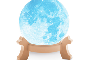 3D-lamp van de volle maan