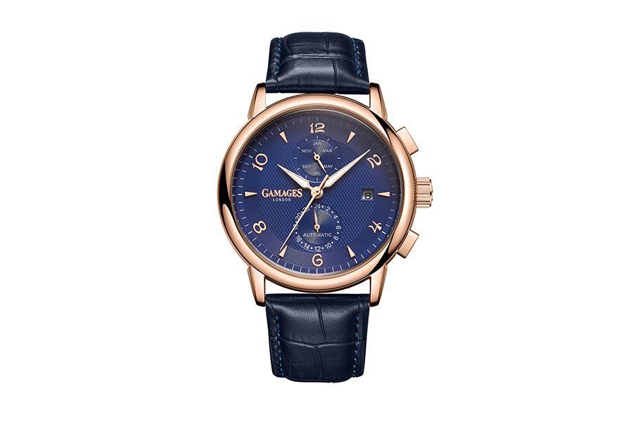 Mystique Automatic Blue herenhorloge van GAMAGES