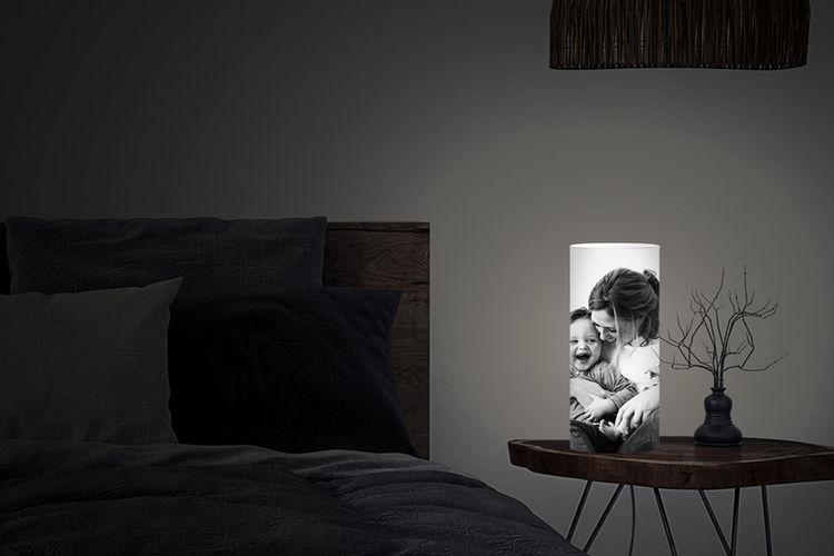 Jouw foto op een fotolamp (in 8 formaten mogelijk)