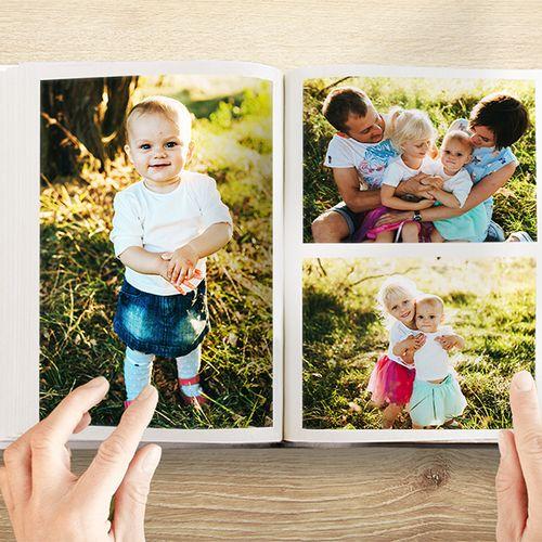 Fotoboek staand of liggend van Fotocadeau.nl