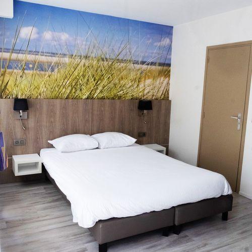 Hotel Sandeshoved aan de Belgische kust