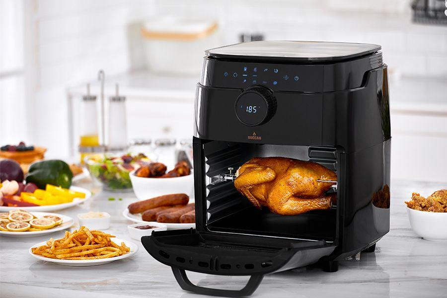 Airfryer-oven met accessoires van Buccan (12 liter)