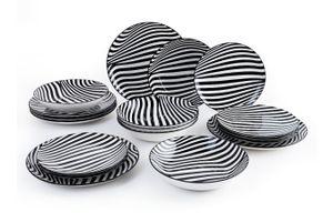 18-delige bordenset van Quid (collectie: Zebra)