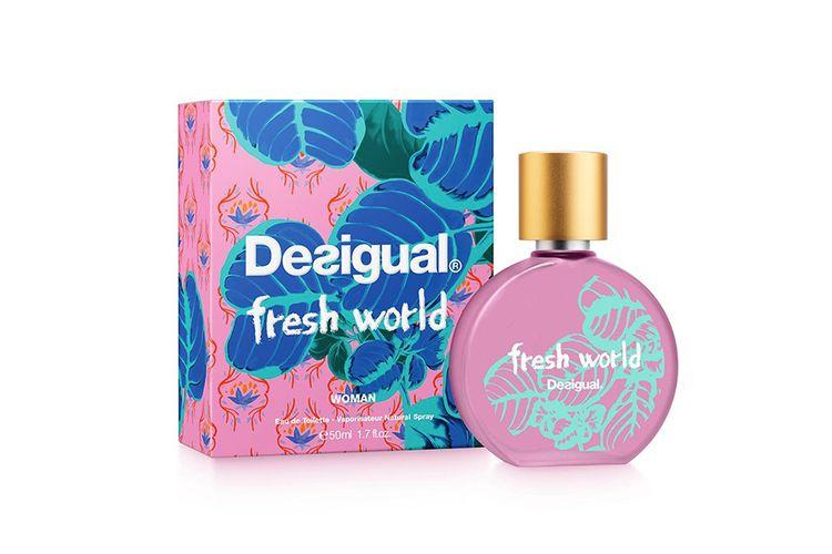 Eau de toilette Fresh World van Desigual (50 ml)