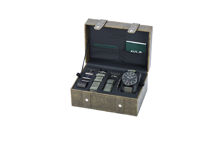 AVI-8 Hawker Harrier II gift set met herenhorloge