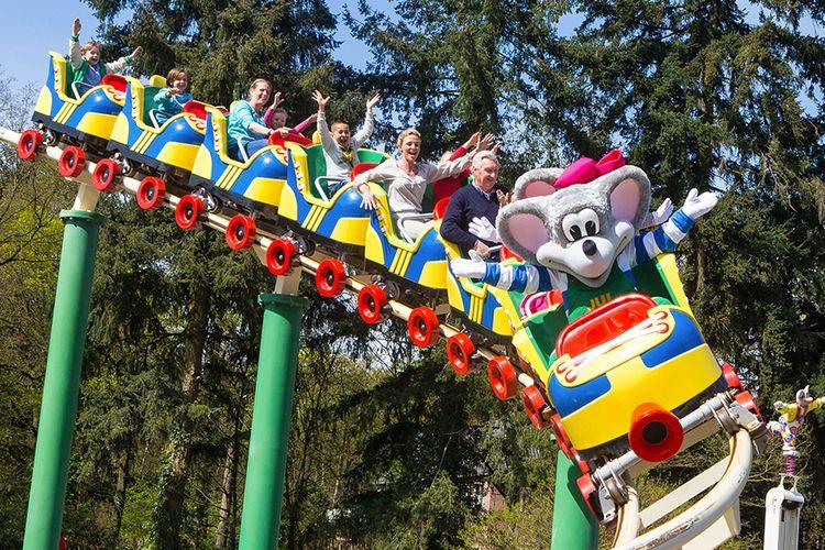 2 tickets voor Kinderpretpark Julianatoren in Apeldoorn