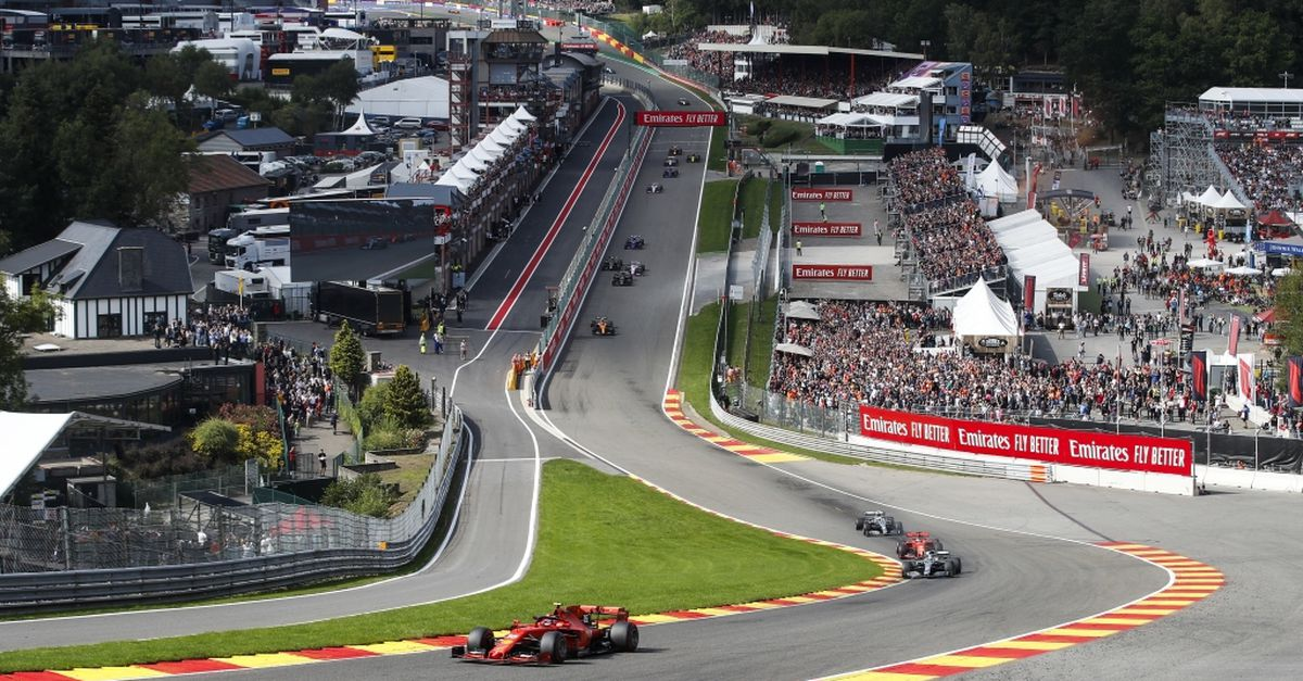 2 tickets pour le Grand Prix de Formule 1 à Spa