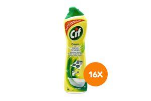 16 bouteilles de nettoyant Cif (500 ml)