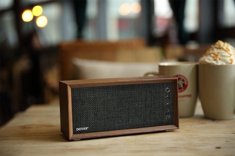 Bluetooth-speaker met ingebouwde radio
