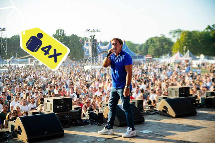 Korting Puur Hollands Festival Nijmegen met Tino Martin (4 p.)
