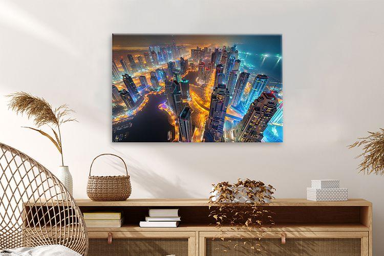 Canvas Skylines 60x40 cm (22 varianten)