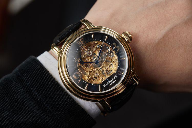 Automatisch herenhorloge van Thomas Earnshaw (Longcase)