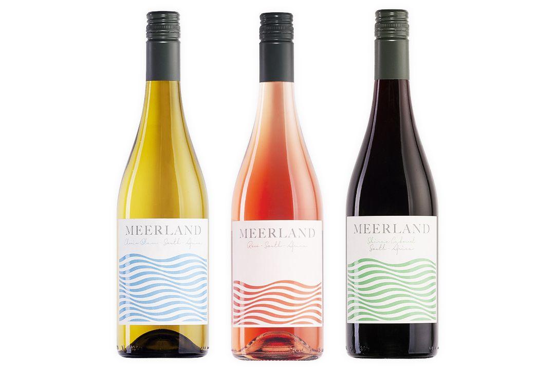 Keuze uit 6 flessen wijn: Meerland rosé, wit of rood