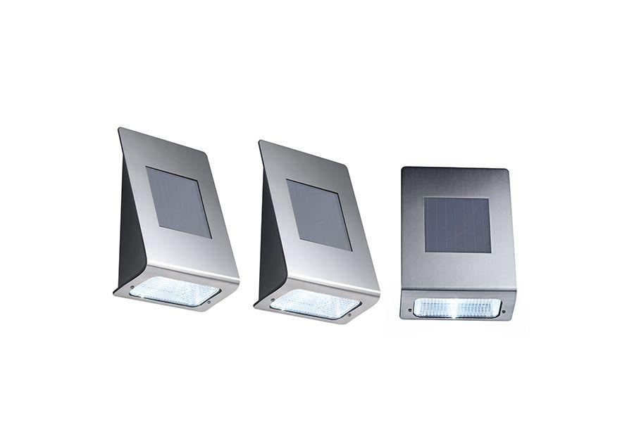 3 buitenlampen op zonne-energie van Hyundai