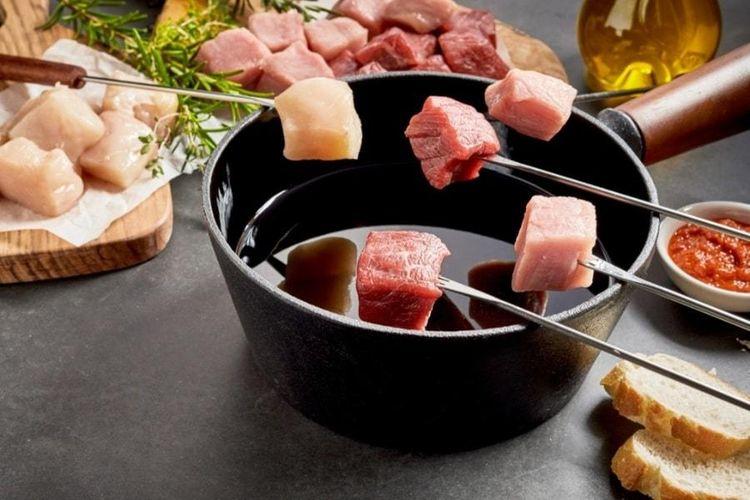 Fonduepakket Vlees-in-the-Box thuisbezorgd (3 p.)