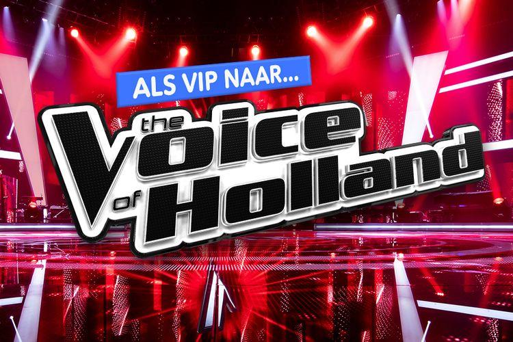 Als VIP naar de finale van The voice of Holland (2 p.)