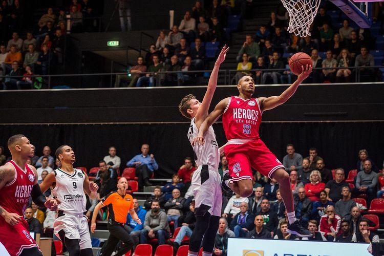 Tickets basketbalwedstrijd Heroes Den Bosch (2p.)
