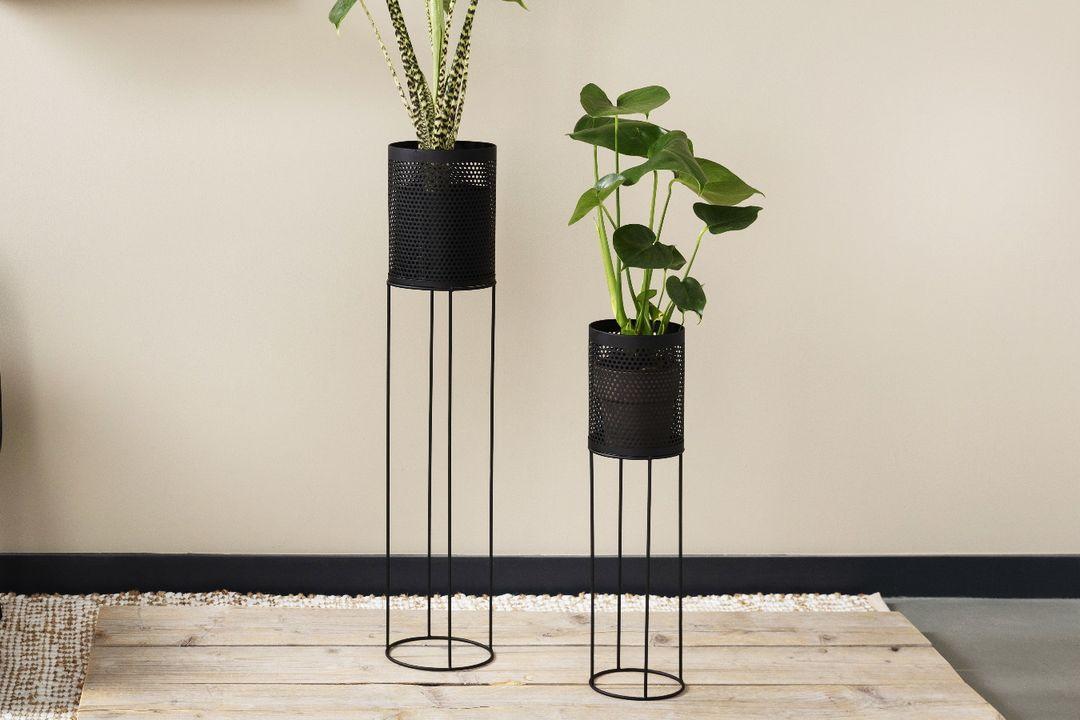 2 hoge plantenhouders van Lifa Living