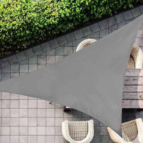 Antraciete schaduwdoek van Feel Furniture (3.6x3.6m)