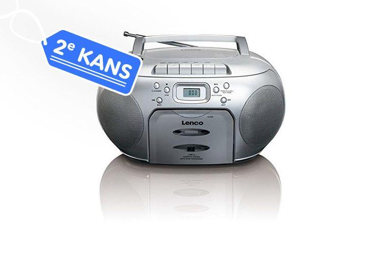 Tweedekansveiling: Lenco SCD-42 Zilver CD radio
