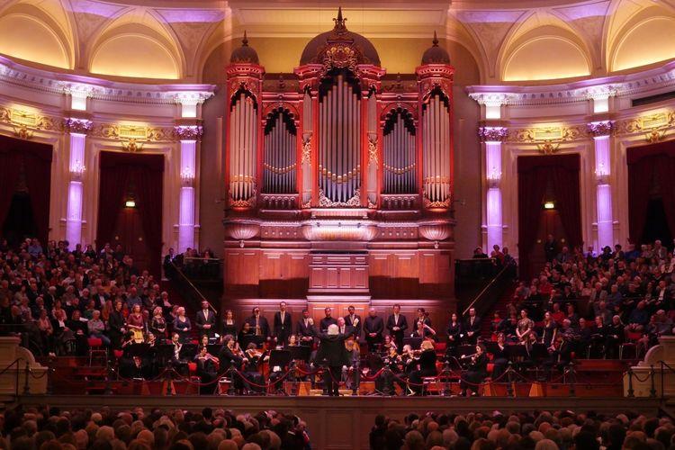 De Matth�us Passion in Het Concertgebouw Amsterdam