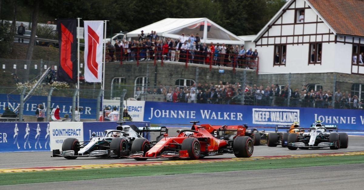 2 tickets pour les essais libres du GP de F1 à Spa