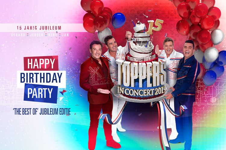 Toppers in Concert 2019: Happy Birthday Party (2 p.)