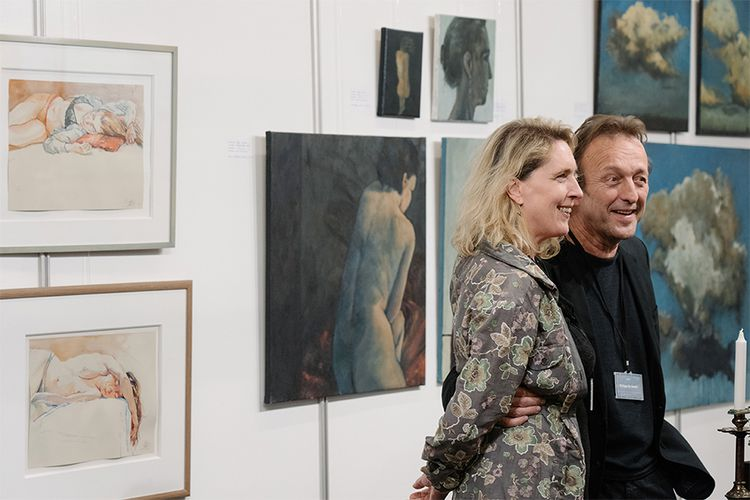 Tickets voor Annual Dutch Art fair in Amsterdam (2 p.)