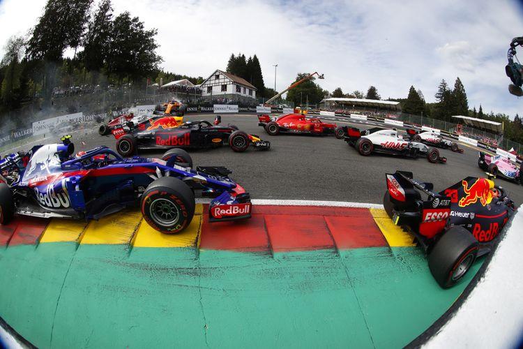 2 tickets voor de vrije training Formule 1 GP in Belgi�