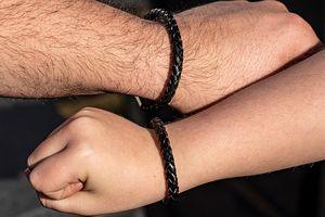 Vader en zoon-armbandenset van Di Lusso