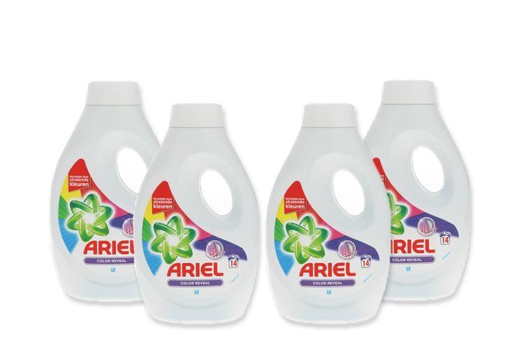 4 flessen wasmiddel van Ariel (4 x 770 ml)