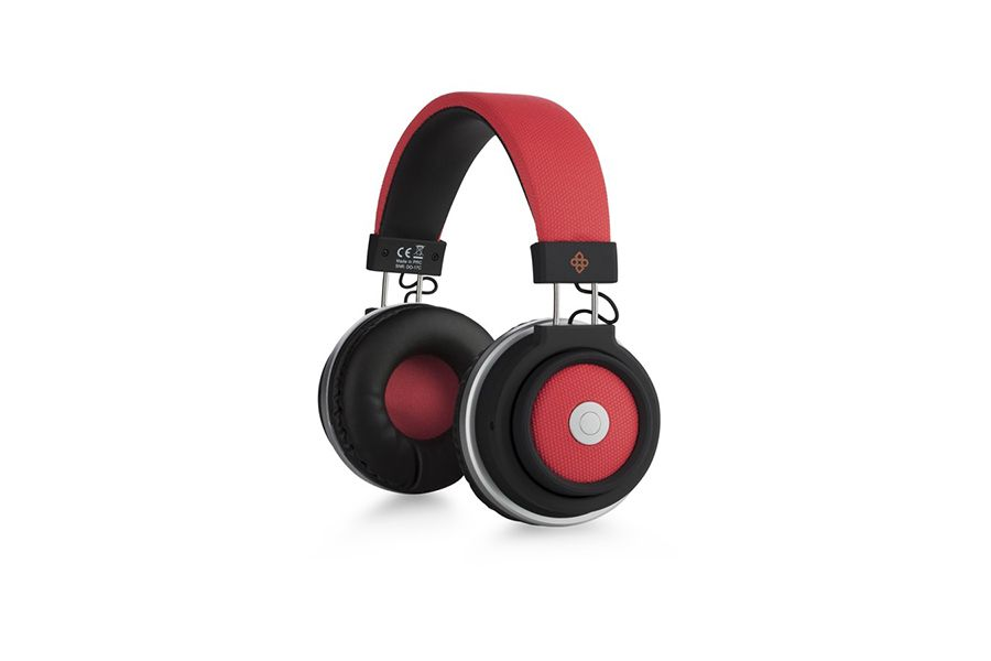 Bluetooth koptelefoon van Dutch Originals (rood)