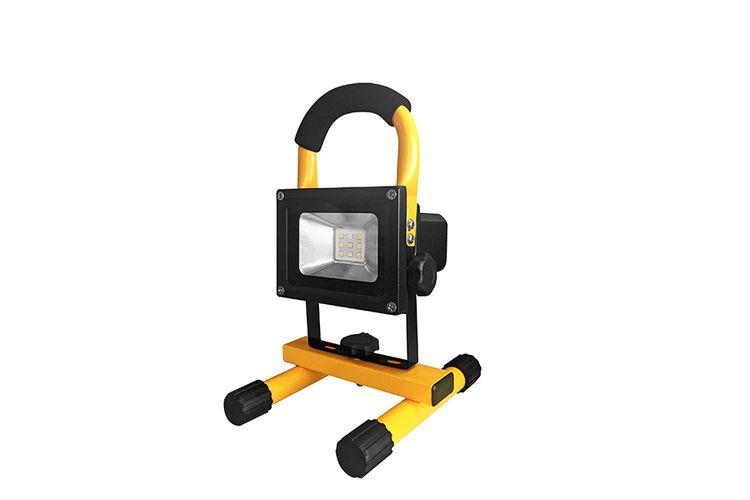 Oplaadbare LED bouwlamp op voet (draadloos) - 10W