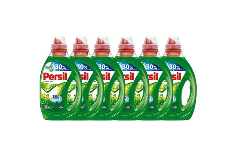 Persil: 6 x 1 liter Power Gel voor witte was