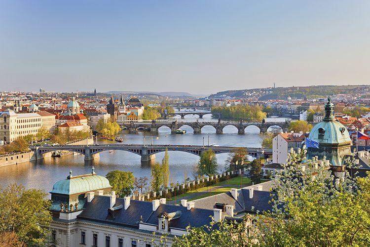 Weekend of midweek in het Ertsgebergte, Duitsland Praag