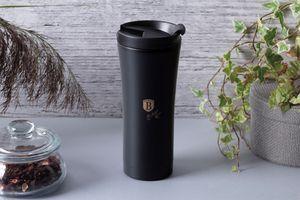 Matzwarte koffiebeker van Berlinger Haus (500 ml)