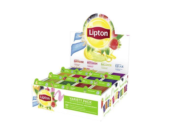 Korting 180 theezakjes van Lipton (12 verschillende smaken)