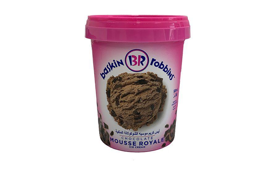 5 liter ijs van Baskin Robbins