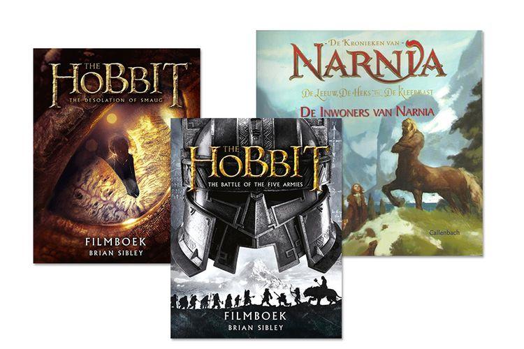 Boekenpakket met The Hobbit (filmeditie) en Narnia