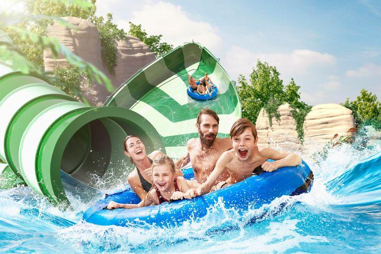 Tickets voor Bellewaerde Aquapark, België (2 p.)